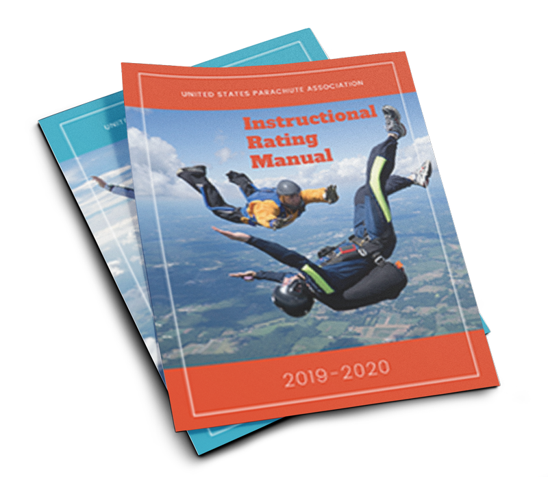 Skydiver's Information Manual required for your tandem course.